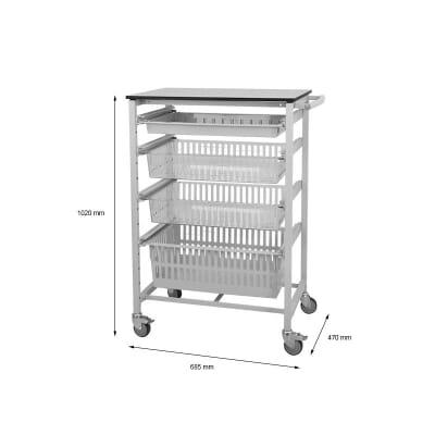 Small Modular Shelving Open Frame Rack